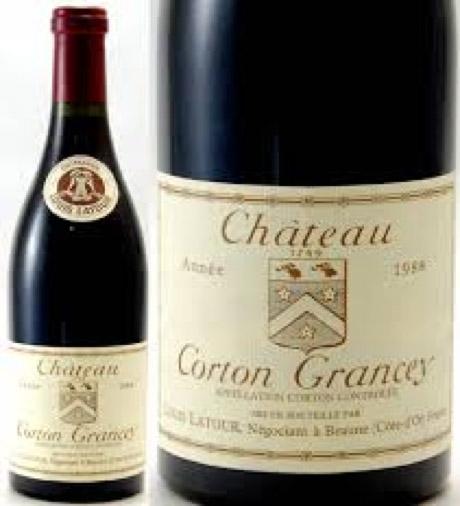 Corton Grancey Grand Cru Louis Latour | コルトン グランセイ グラン クリュ