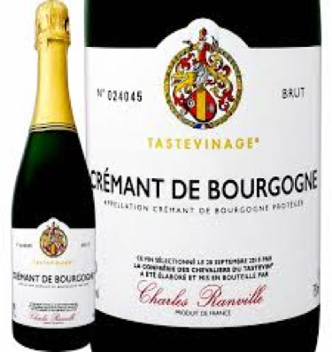 Charles Ranville Cremant de Bourgogne Tastvinage | クレマン ド ブルゴーニュ シャルル・ランヴィル タストヴィナージュ
