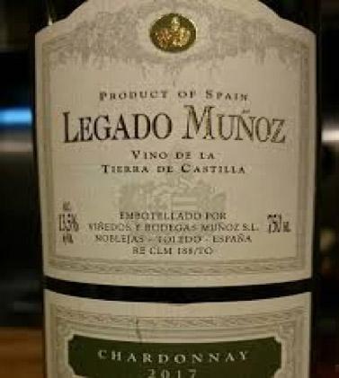Legado Muñoz Chardonnay | レガード・ムニョス シャルドネ